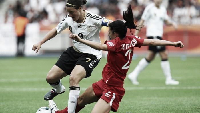 Alemanha e Canadá se encontram novamente no futebol feminino na Rio 2016