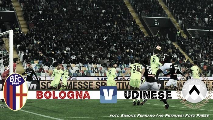 Udinese - Ancora una volta con il Bologna è match chiave per capire lo stato della squadra
