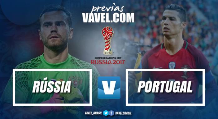 Rússia enfrenta Portugal em busca de vaga na segunda fase