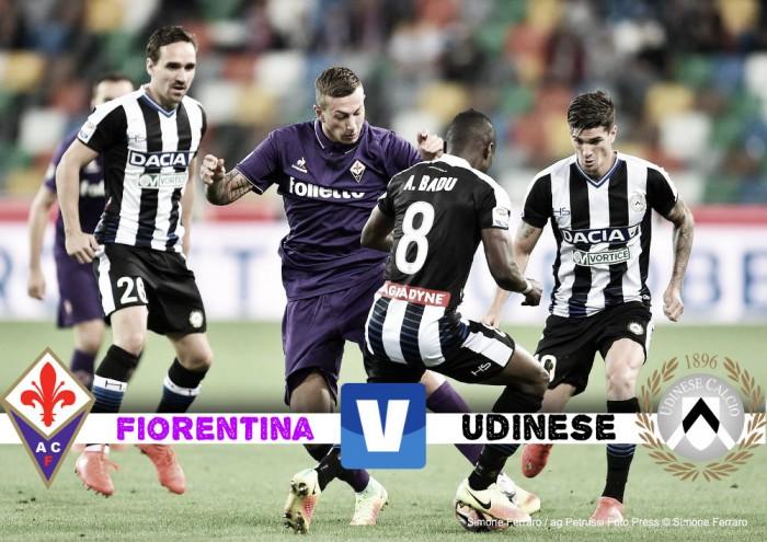 Fiorentina-Udinese Diretta Streaming Live: 24° giornata Serie A, 11-2