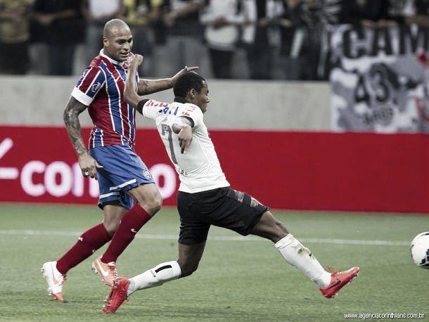 Para encostar na liderança, Corinthians recebe o Bahia na Arena