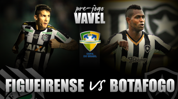Em situações opostas, Figueirense e Botafogo se reencontram pela Copa do Brasil após dois anos