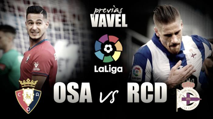 Previa Osasuna - Deportivo: solo queda el honor