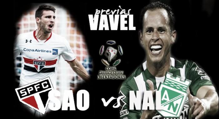 Previa Sao Paulo - Atlético Nacional: Duelo de viejos conocidos del continente