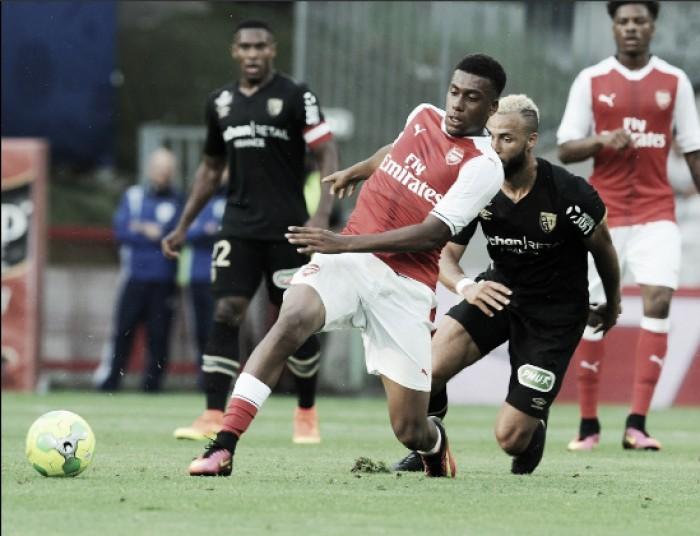 Arsenal empata com Lens em amistoso de pré-temporada