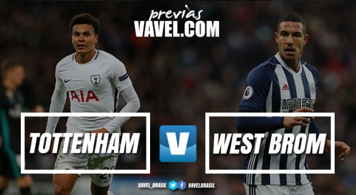 Tottenham busca recuperação na Premier League diante do fragilizado West Bromwich