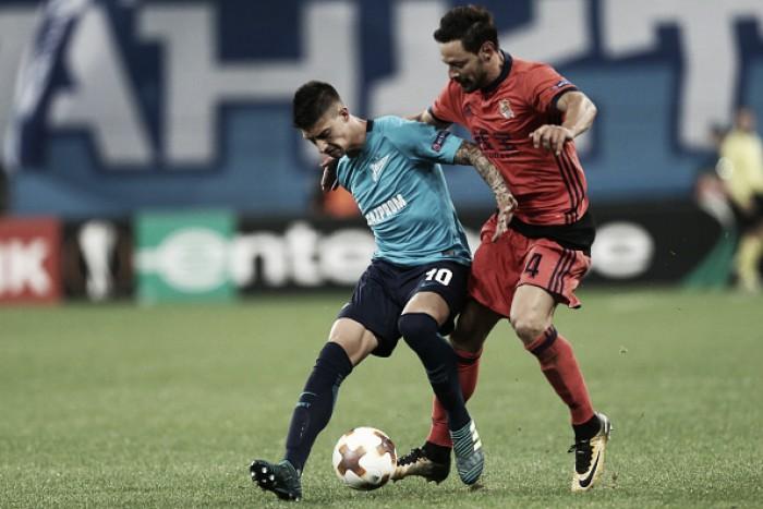 Em momentos semelhantes, Real Sociedad e Zenit duelam pela liderança do Grupo L da UEL