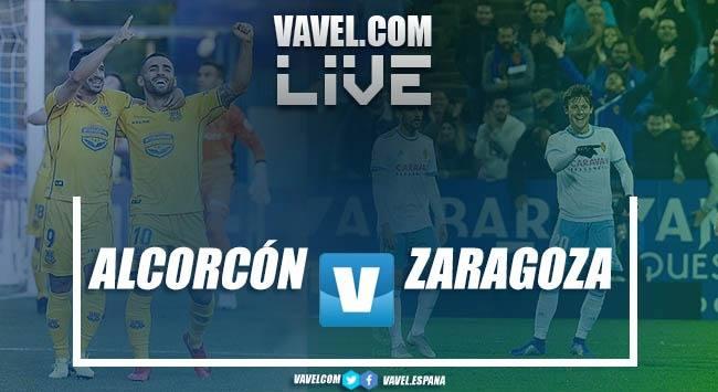Resumen AD Alcorcón vs Real Zaragoza en LaLiga1 2 3 2018 (2-0)