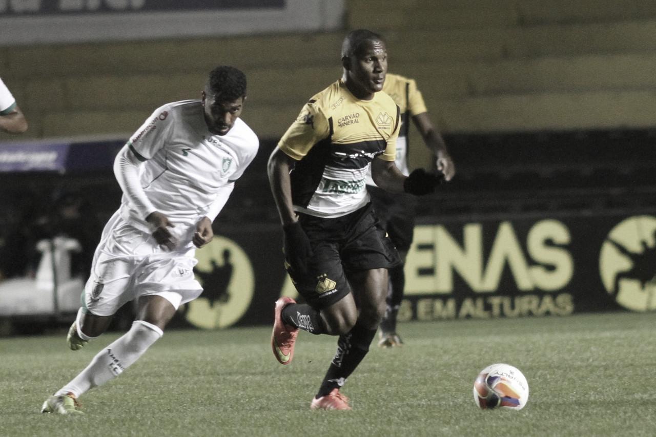 Criciúma e América-MG buscam primeira vitória na Série B neste sábado