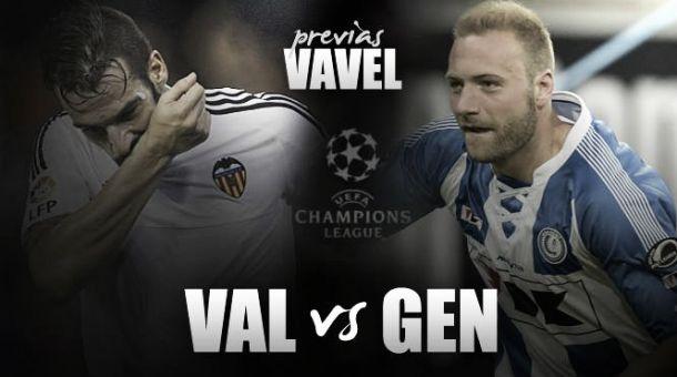 Champions, il Valencia non vuole fermarsi contro il Gent