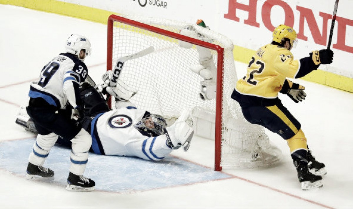 Fiala double overtime hero for the Predators