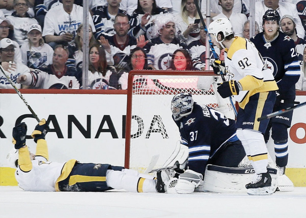 Preds Shut Out Jets to Force Game 7