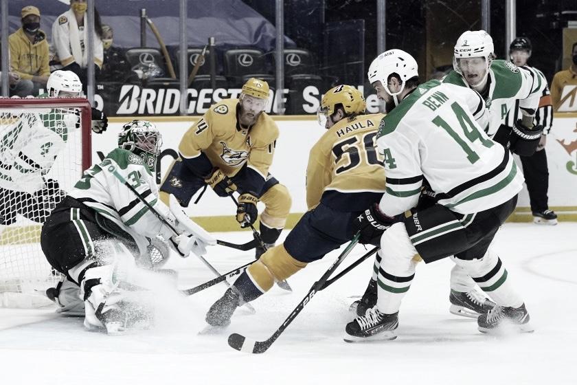 Stars y Predators pelean por el cuarto puesto de playoff en la Central