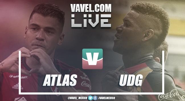 Partido y goles del Atlas vs Leones Negros en Copa MX 2019 (1-2)