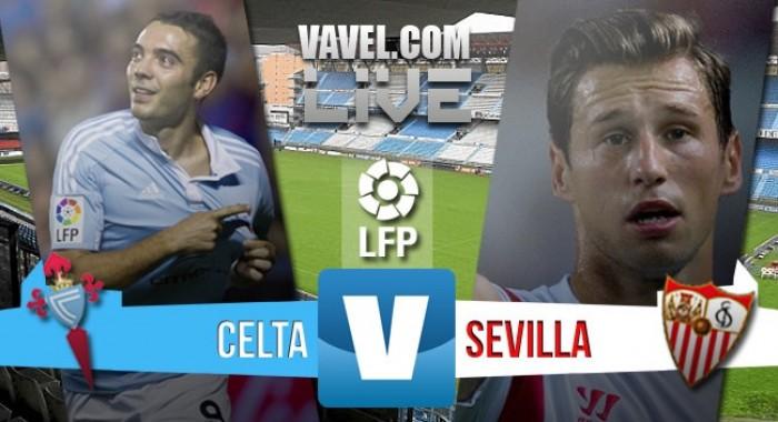 Resultado Celta vs Sevilla en Liga 2016: un punto y gracias (1-1)