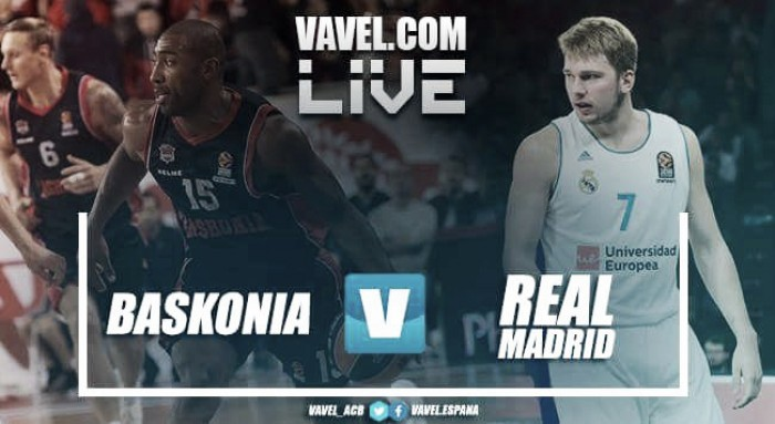 Resumen Saski Baskonia vs Real Madrid (105-75)