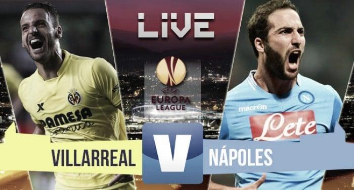 Villarreal - Napoli in Europa League 2015/16 (0-0)