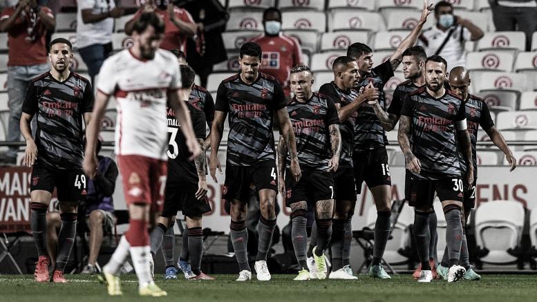 Resumen Benfica vs PSV (2-1) en la ida de los Play-offs de la Champions League 2021. | 18/08/2021 - VAVEL México