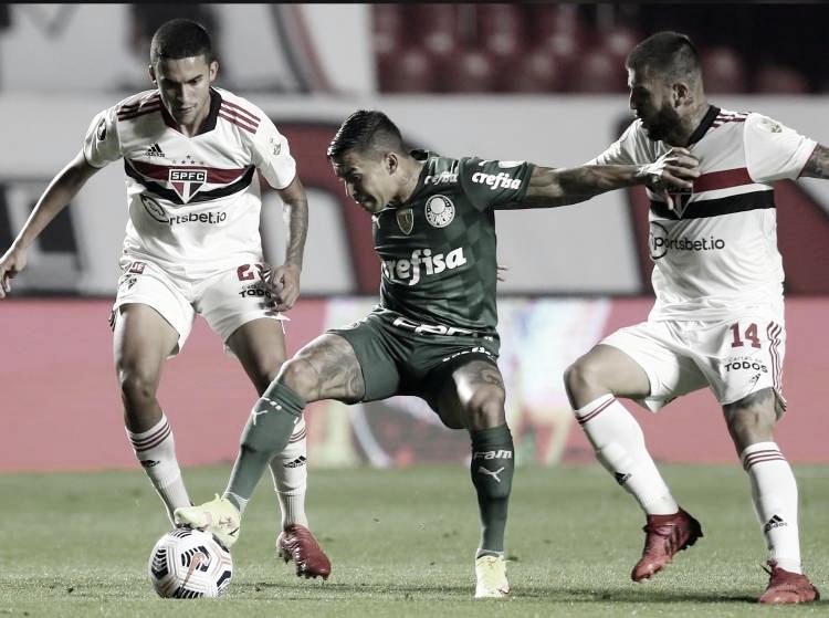 Resumen Palmeiras vs Sao Paulo (3-0) en los cuartos de final de la Copa Libertadores 2021