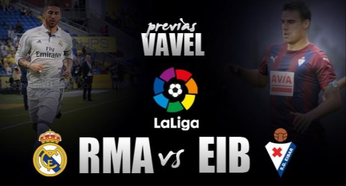 Sem Modric e Sergio Ramos, Real Madrid recebe Eibar para recuperar caminho das vitórias