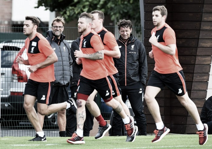 Sadio Mane among those involved as Liverpool squad return to pre-season training