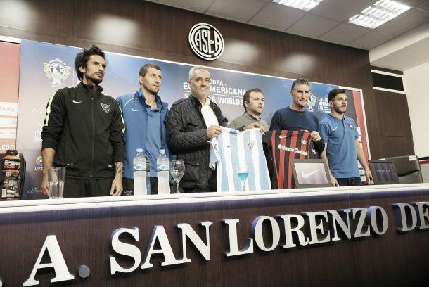 Presentado el partido ante San Lorenzo