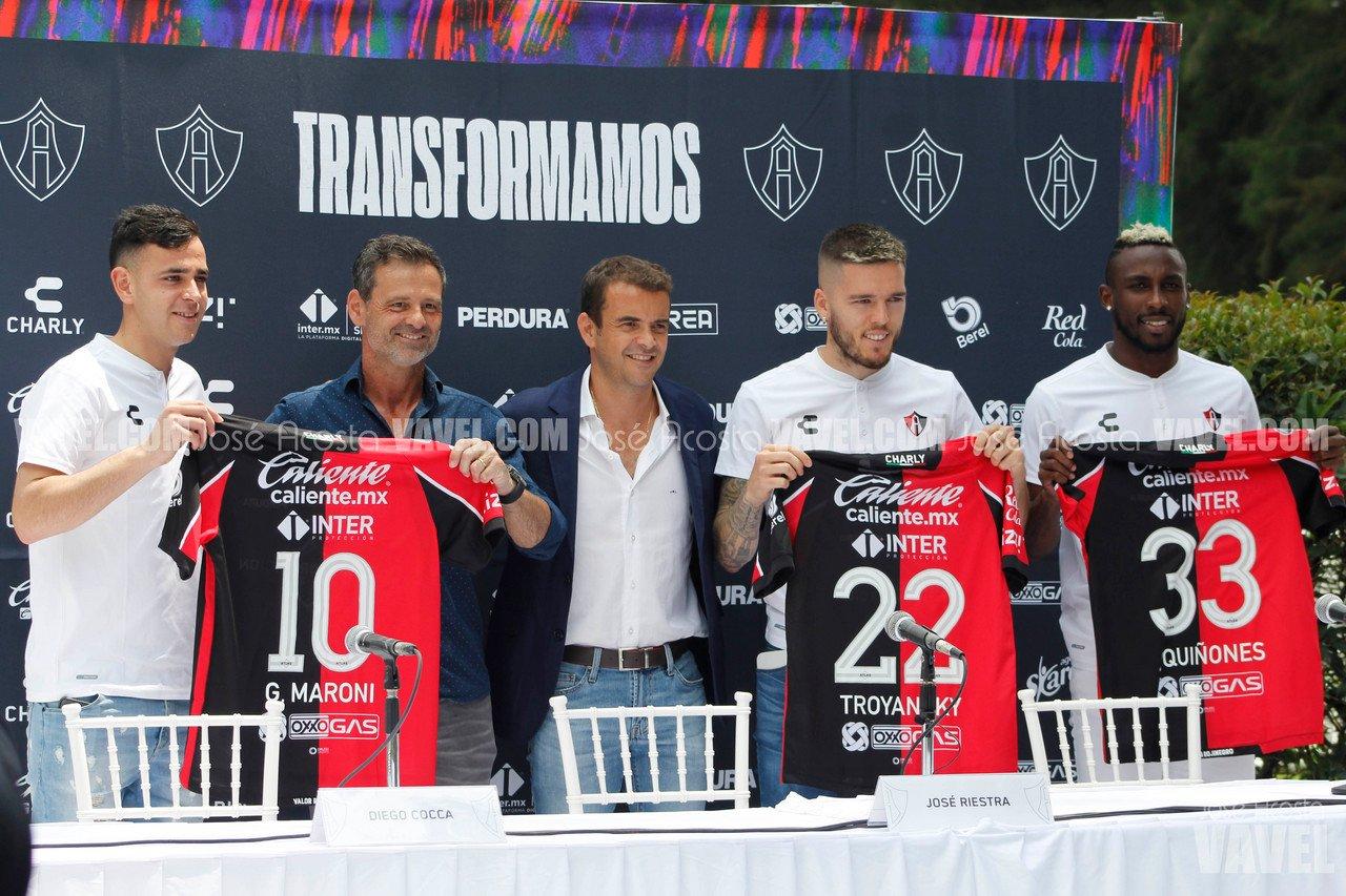 Atlas presenta oficialmente a sus refuerzos para el Apertura 2021