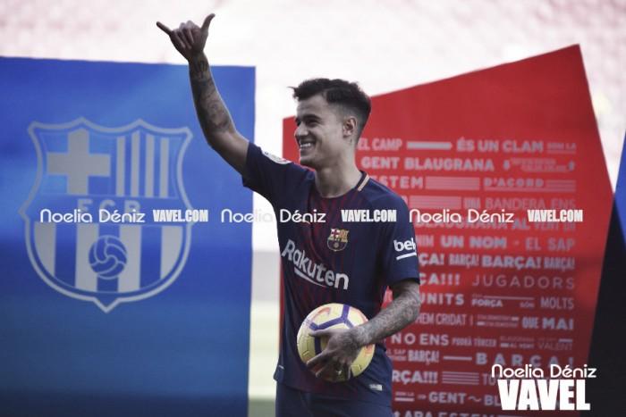 Philippe Coutinho 'se adapta'