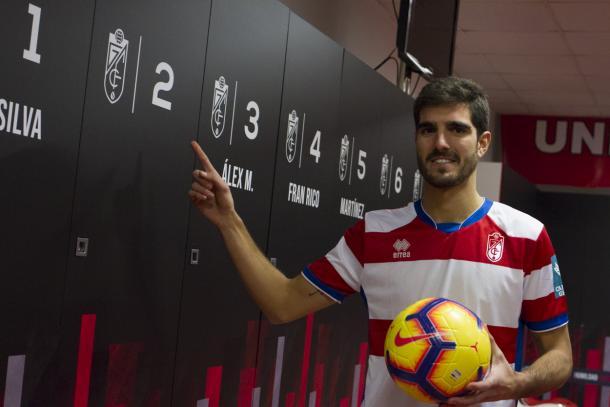 Bernardo se ejercitó en la primera sesión semanal