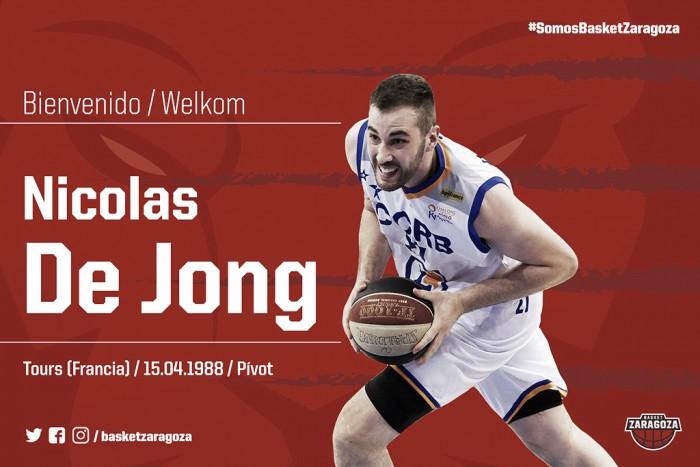 Tecnyconta Zaragoza completa su juego interior con Nicolas de Jong