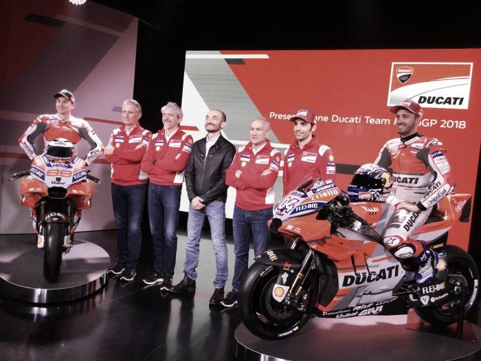 Ducati presenta la Desmosedici 2018