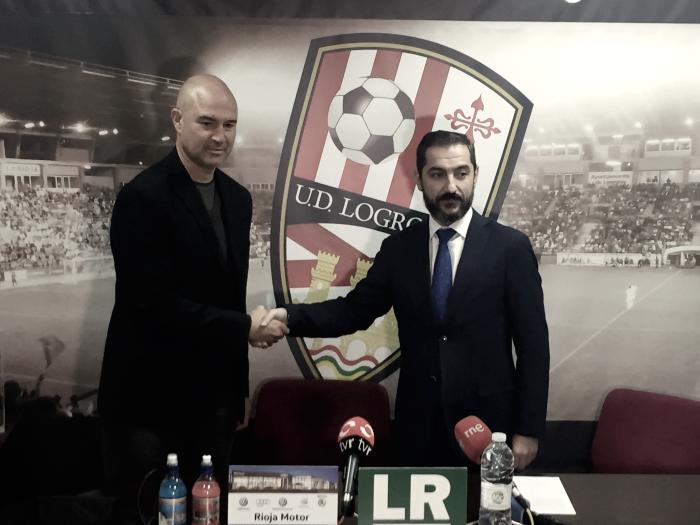 Rafael Berges, nuevo entrenador de la UD Logroñés
