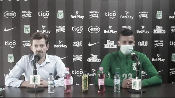 """Emilio Gutiérrez: """"Ruyery es el presente y futuro de Atlético Nacional"""""""