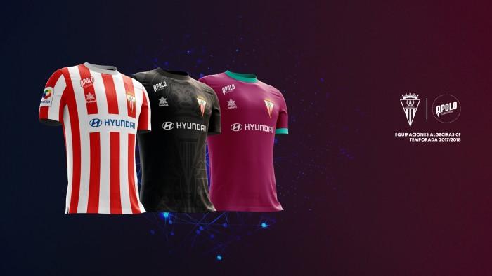 El Algeciras CF presenta sus nuevas equipaciones