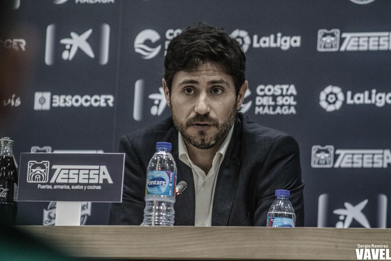"""Víctor Sánchez: """"Nuestra idea es sencilla, ayudar a los jugadores a dar la mejor versión de ellos mismos"""""""