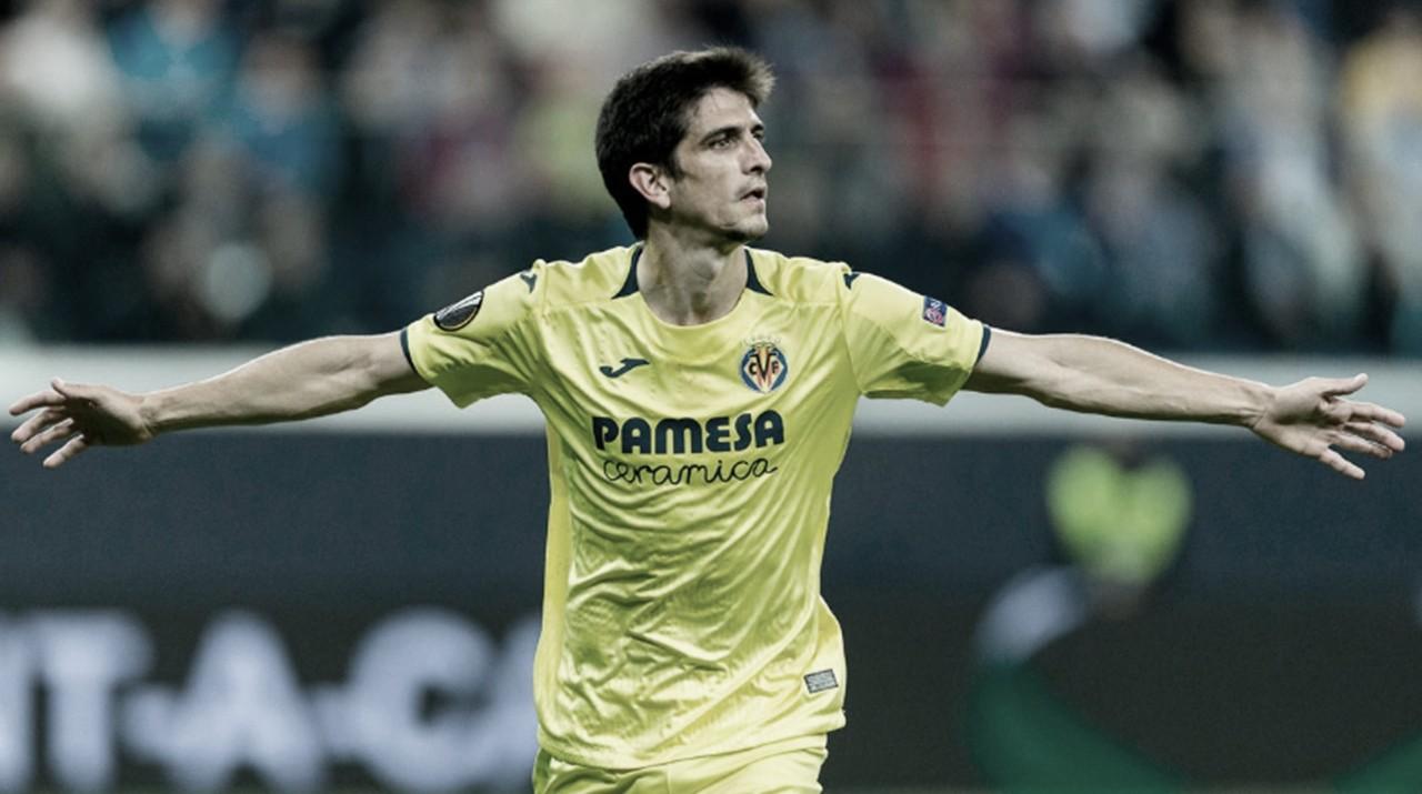 Gerard Morano celebra un gol / Foto: Villarreal C.F