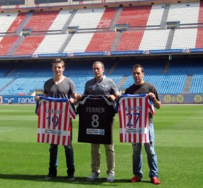 El BM Atlético de Madrid estrena jugadores y equipación