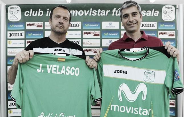 Jesús Velasco es presentado como nuevo técnico de Inter Movistar