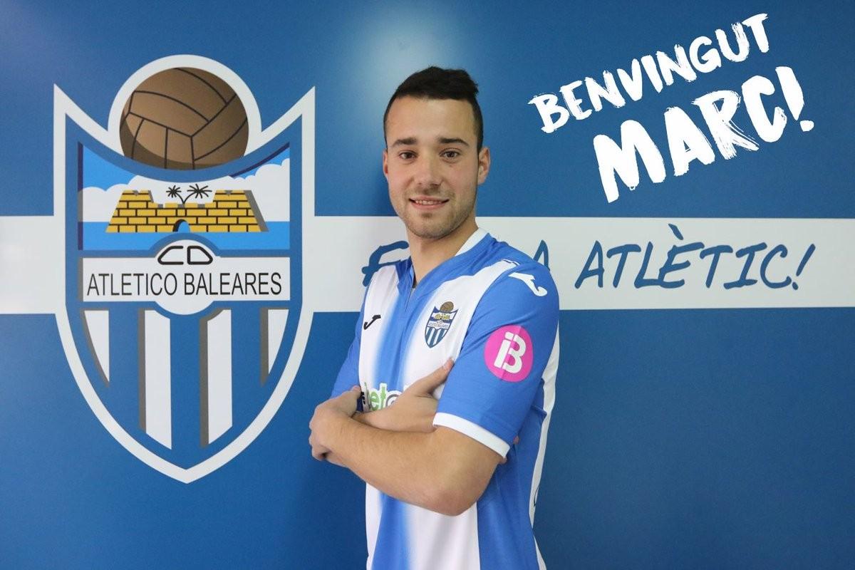 Marc Rovirola, nuevo jugadordel Atlético Baleares