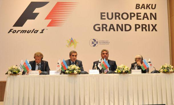 F1, presentato il circuito di Baku