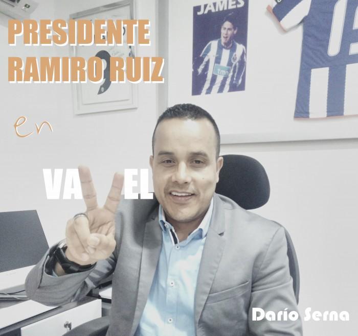 """Presidente Ramiro Ruiz: """"Confío plenamente en el trabajo del cuerpo técnico"""""""