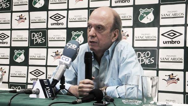 """Álvaro Martínez: """"Pese a la oferta del Nacional, Candelo se queda"""""""