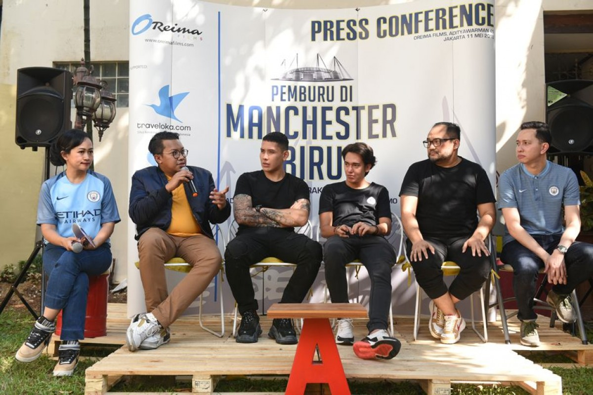 Film Pemburu di Manchester Biru di Momentum Juara Man City