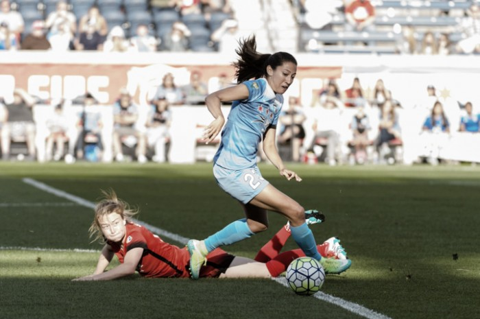 Portland Thorns edge out the Chicago Red Stars in the Invitational Opener (1-0)