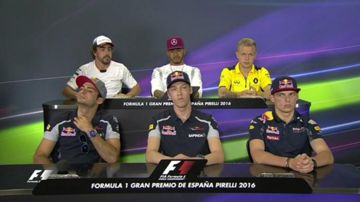 GP Spagna, le parole dei piloti in conferenza stampa