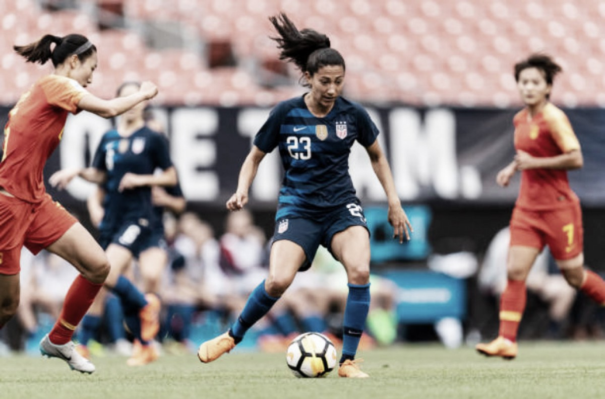 Christen Press heads to Utah in another three-team trade