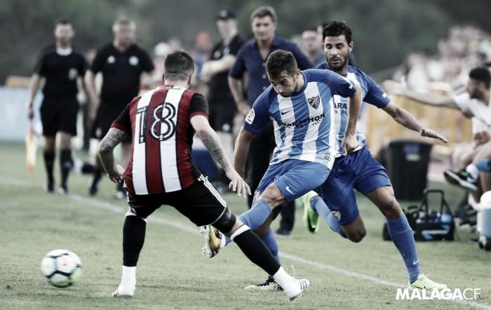 Balance de la pretemporada del Málaga CF en julio
