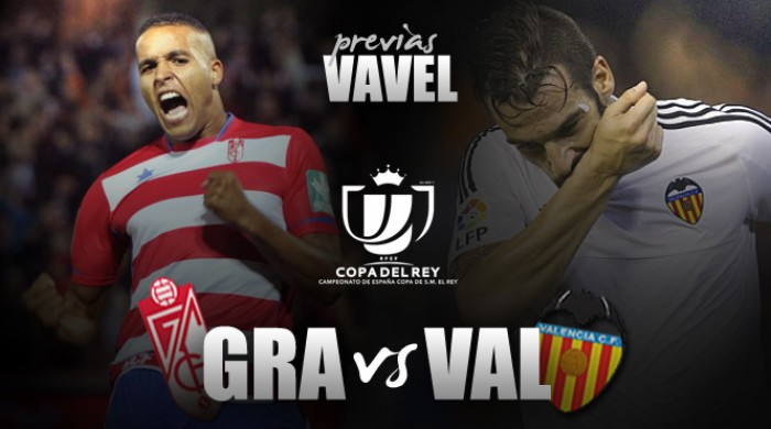 Granada CF - Valencia CF: partido de trámite