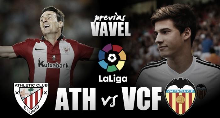 Previa Athletic Club - Valencia CF: se busca inyección de moral