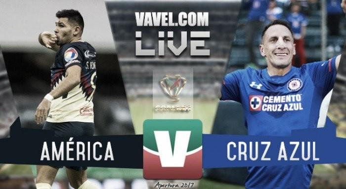 Resultado del América vs Cruz Azul cuartos de final Liga MX 2017 (0-0) Global (0-0)